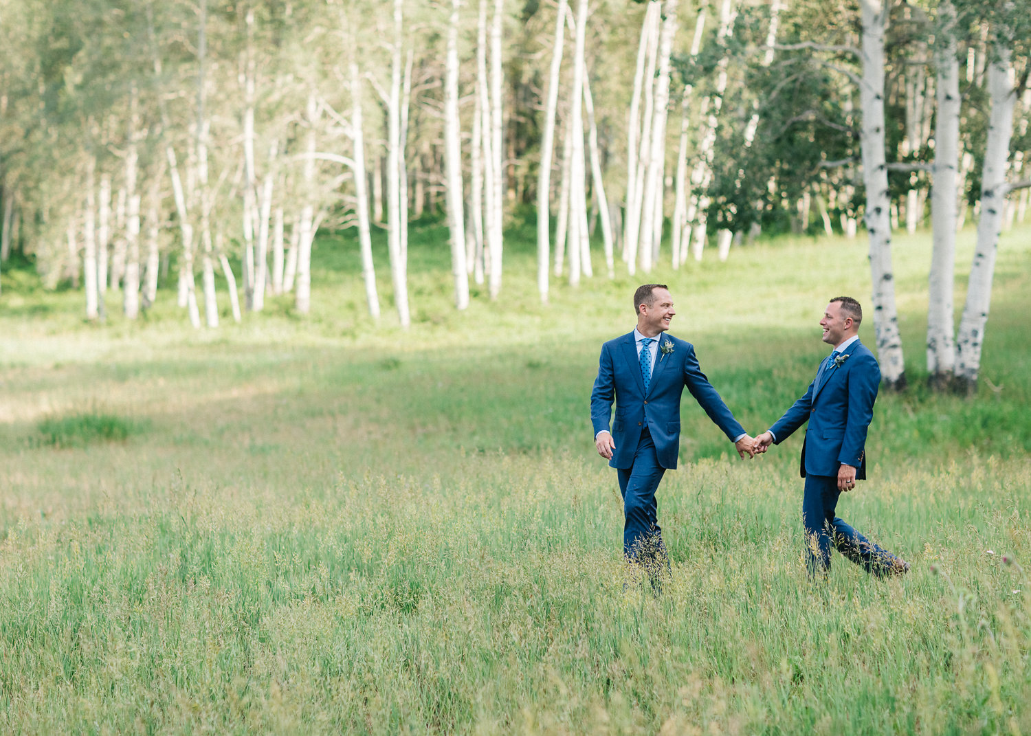 Destination Wedding at Zach\'s Cabin in Beaver Creek, Colorado