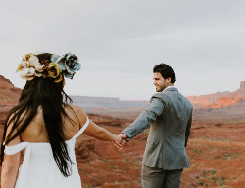 Ivette and David's Utah Desert Moab Wedding